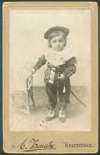 Serbia Kingdom Kragujevac Children Sword Cartonage Photo