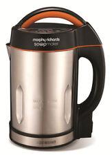 Morphy Richards Suppe Maker schwarz elektrisch Machine 48822