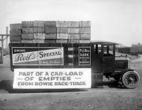 "1920 Beer Truck Vintage Photograph 8.5"" x 11"" Reprint"