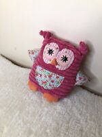 Retired Jellycat Twitter Witter Owl TWW3WL Toy Soft Plush Comforter 2011