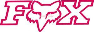 FOX TDC-Aufkleber: Corporate 9x4cm, pink : ONESIZE