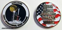 SPACEX CREW-1 RESILIENCE FALCON-9 - 1ST OPERATIONAL CREW NASA USAF Mission COIN