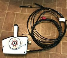 EVINRUDE POWER PILOT REMOTE CONTROL 13/14' NEW Cables.