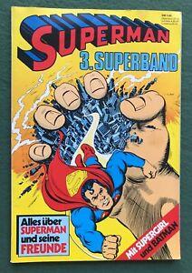 Superman Superband 3 1981 DC Comics Bronze Age German trade paperback vg/f