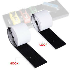 Electric Guitar Pedal board Mounting Tape Fastener Length 2M * 5CM Hook + Loop