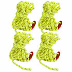 Windproof Reflective Rope Tent Accessories 4Pcs for Canopy Outdoor Tents Man