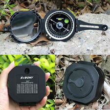 Pocket Transit Waterproof Compass for Surveyors Forester Hiking Camping Marching
