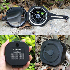 Pocket Transit Waterproof Compass for Surveyors Forester Hike Camping Mining US