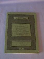 Vintage Sotheby Fine Continental Porcelain Catalog November 1968 Price List