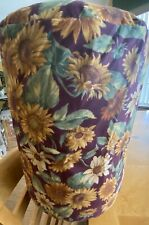 HAND SEWN WATER DISPENSER 5 GALLON WATER JUG COVER SUNFLOWER