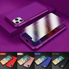 """For iPhone 11 6.1""""/ 11 Pro Max 6.5"""" 360° Shockproof Case Cover + Tempered Glass"""