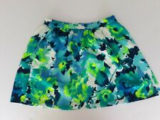 Aqua Necessary Objects A Line Skirt Side Pockets Blue Size L