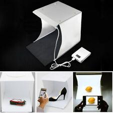 Photo Studio Photography USB Lighting Tent LED Light Room Cube Box +6X Backdrops