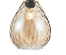 Endon Eileen non electric Glass Sphere Pendant Shade 22cm W x 22cm D x 24.5cm H
