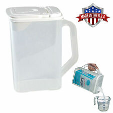 Food Storage Container 4 Qt Flour Sugar Pour n' Store Dispenser with Handle