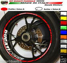 Kit Adesivi per ruote Ducati 959 panigale strisce cerchi Ducati Corse