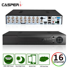 CASPERi 16 Channel CCTV HD DVR VGA HDMI 1080P AHD H.264 Digital Video Recorder