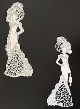 Artigianato di metallo Elegant Lady Costume VINTAGE DIE Cutter