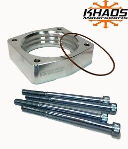 Khaos Motorsports Helix Throttle Body Spacer (fits) Nissan / Infiniti 3.5L
