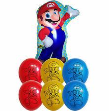 7pces Super Mario Bros Balloon Birthday Party Supplies Decoration Gift Favor Toy