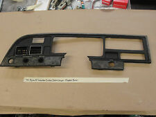OEM 74 Plymouth SUBURBAN CUSTOM STATION WAGON DASH CLUSTER BEZEL TRIM VENTS