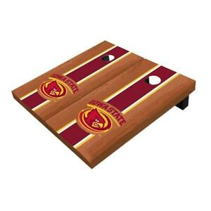 Iowa State Cyclones Rosewood Red Cornhole Boards - The Perfect Christmas Gift