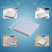 Slim External USB 3.0 CD DVD ROM RAM RW Drive Burner Writer Reader For Mac Apple