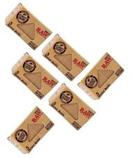 LOT of SIX - RAW Rolling Papers Rolls - Classic SINGLE WIDE 5 meter length each