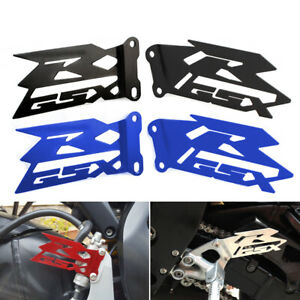 Footrest Heel Plates Guard For SUZUKI GSX-R 600/750 2006-2020/ GSXR 1000 03-16