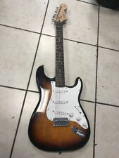 SQUIER STRAT BY FENDER   with soft case