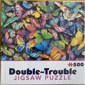 Double Trouble Puzzle Butterflies Jigsaw Puzzle Jigsaw Puzzle