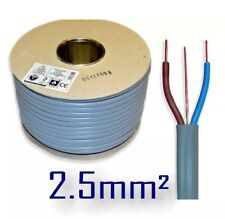 100m 2.5mm Twin and Earth T&E Electric Cable Wire