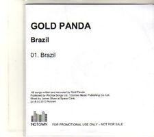 (DT40) Gold Panda, Brazil - 2013 DJ CD