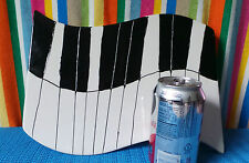 Keyboard, Ceramic Piano Artwork, Hot Plate/Cheese Plate, P.M. Design Group,Inc.