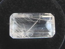 Rutilated Quartz faceted gemstone 24.50 ct Reiki