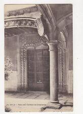 Avila Patio Del Torreon de Crescente Spain Vintage Postcard 223a