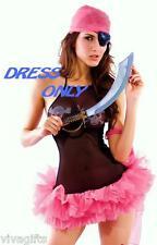 Womens/Girls Pirate of Caribbean/Buccaneer Swashbuckle Halloween Costume