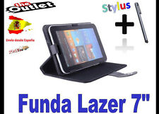 """FUNDA NEGRA TABLET LAZER 7"""" UNIVERSAL  ALCAMPO CARREFOUR TABLET PC ANDROID 4"""