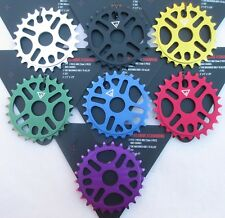 Black Ops Micro Drive II Chainring Sprocket 25T 1-piece Alloy Colors