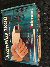 Intermec Scanplus 1800 Bar Code Scanning System Scan Plus
