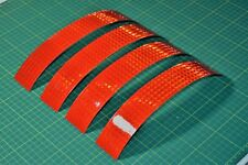 Red Prismatic Reflective Conspicuity Adhesive Safety Tape - Highly Reflective