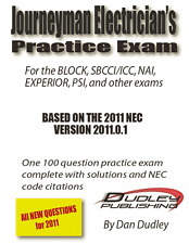 Journeyman Electrician Practice Exam Based on 2011 NEC