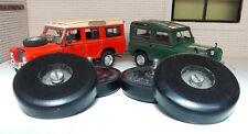 LAND Rover Serie 2 2A 3 cofano ruota di scorta Buffer & Inox Bullone 336473 Set