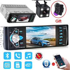 4.1 Inch Touch Screen Car Radio 1 Din Car Stereo MP5 Player Bluetooth w/ Camera