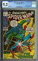 Amazing Spider-Man #93 CGC 9.2 WP Prowler App