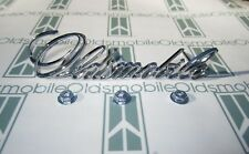 """1971-1972 Olds Cutlass, S, 98 Grill Script Emblem with Hardware 