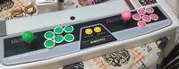 Sega Astro City Repro Control Panel Decal (Not Silver)