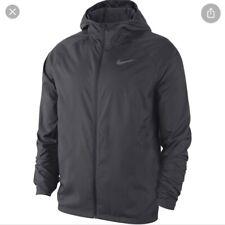 Nike Men's Essential Running Jacket Dark Grey Size XL