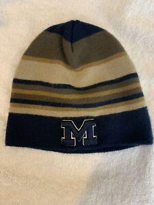 Nike Boys Winter Hat U Of M Beanie Cap Michigan