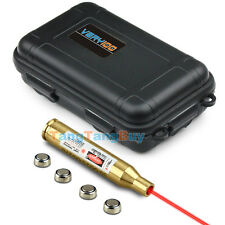 New 30-06 25-06 and 270 Red Laser Cartridge Boresighter & Waterproof Box VERY100